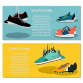 Running sport shoes flyers