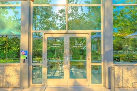 Microsoft Corporation entrance