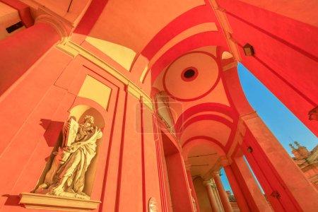 San Luca Statue
