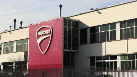 Ducati motorcycling factory building