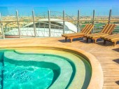 The Torch Doha aerial pool