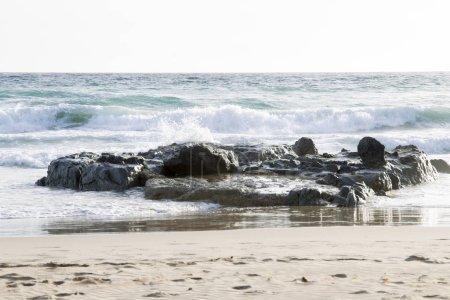 Beach at tarifa on the coast of Andalusia