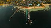 City General Luna on the coast of Siargao island.