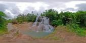 Beautiful tropical waterfall 360VR