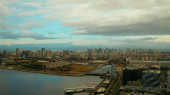 Manila city, the capital of the Philippines.