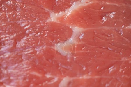 Photo for Beef raw red meat closeup texture background - Royalty Free Image