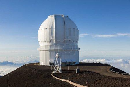 Photo pour Télescope Mauna Kea Canada-France-Hawaï (CFHT), Big Island, Hawaï : - image libre de droit