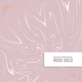 Rose gold Texture of marble with imitation of rose gold Elegant background for for the design of invitations covers and other surfaces Vector illustration