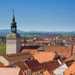 Bautzen, Saxony, Germany: aerial view of city Baut...