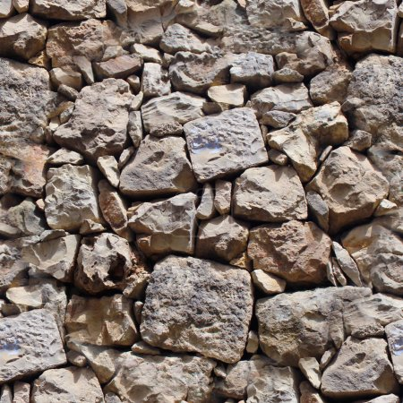 seamless pattern of modern style design decorative real stone wall