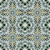 seamless pattern vintage ethnic ornament vector illustration