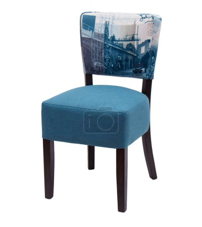 Photo for Modern chair isolated on white background - Royalty Free Image