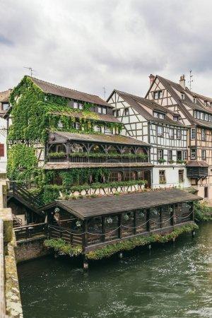 restaurant on the water in Strasbourg