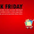 Black Friday Sale Event People Characters cartoon ...