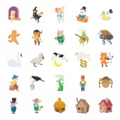 25 Fairy Tale II color vector icons