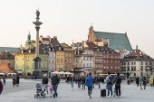 Zamkowy Square in Warsaw