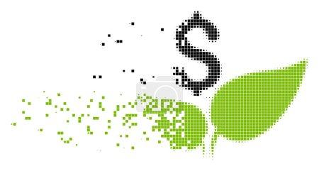 Eco Startup Burst Pixel Icon