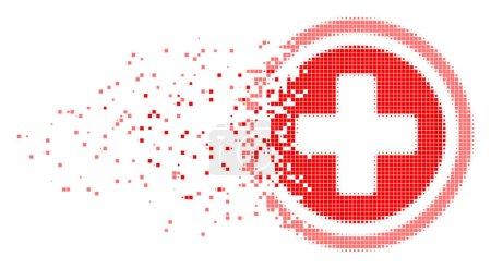 Pharmacy Burst Pixel Icon