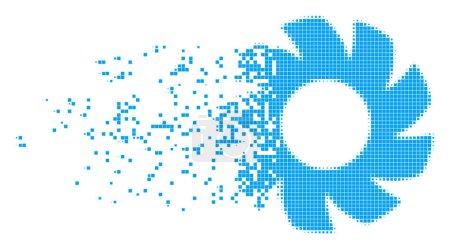 Turbine Burst Pixel Icon