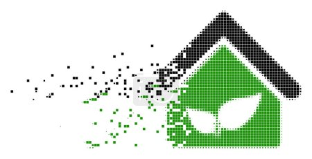 Greenhouse Shredded Pixel Icon