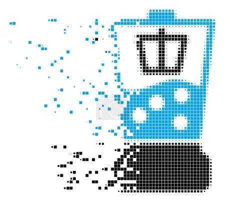 Kitchen Blender Dust Pixel Icon