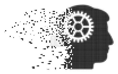 Intellect Cog Damaged Pixel Icon