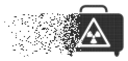 Dangerous Luggage Erosion Pixel Icon