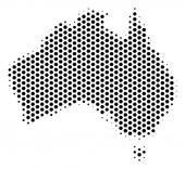 Hex-Tile Australia Map