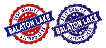 Balaton Lake Best Quality Stamp with Grunge Effect