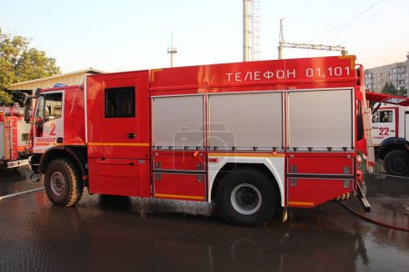 Iveco AMT fire truck works