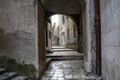 Narrow streets of ibenik (Croatia)