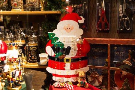 Foto de Escena hermosa Navidad y año nuevo Navidad de mercado - Imagen libre de derechos