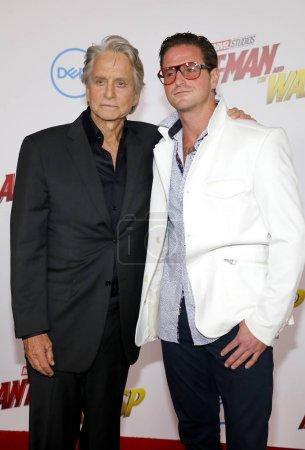 Michael Douglas and Cameron Douglas