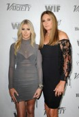 Sophia Hutchins and Caitlyn Jenner at the Variety And Women In Film's 2018 Pre-Emmy Celebration held at the Cecconi's in West Hollywood, USA on September 15, 2018.
