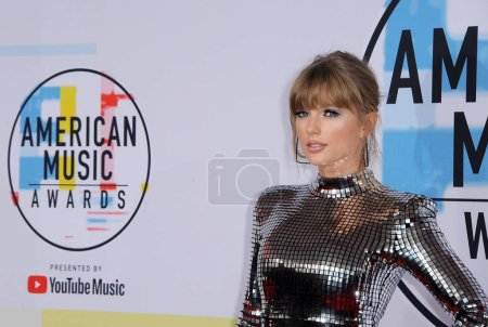 Photo for Taylor Swift at the 2018 American Music Awards held at the Microsoft Theater in Los Angeles, USA on October 9, 2018. - Royalty Free Image