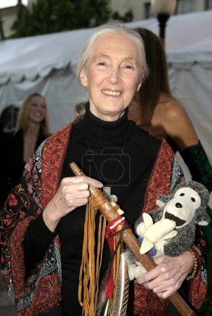 Photo for 30 October 2004 - Los Angeles, California - Dr. Jane Goodall. In Defense of Animals Hosts 2nd Annual Guardian Award at the Paramount Studios in Los Angeles. - Royalty Free Image