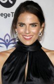 actress Karla Souza at the Eva Longoria Foundation Dinner Gala held at the Four Seasons Hotel in Beverly Hills, USA on November 8, 2018.