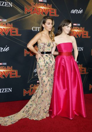 actresses Elizabeth Henstridge and Chloe