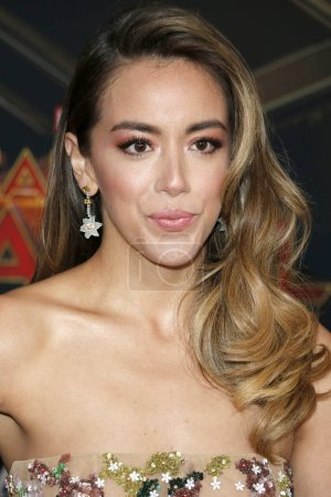 actress Chloe Bennet at the