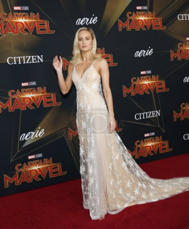 actress Brie Larson at the