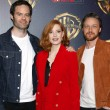 Bill Hader, Jessica Chastain and James McAvoy at t...