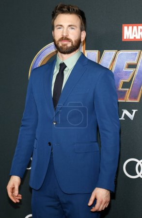 Photo for Chris Evans at the World premiere of 'Avengers: Endgame' held at the LA Convention Center in Los Angeles, USA on April 22, 2019. - Royalty Free Image
