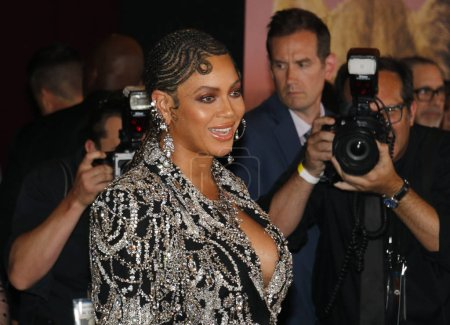 Photo for Beyonce at the World premiere of 'The Lion King' held at the Dolby Theatre in Hollywood, USA on July 9, 2019. - Royalty Free Image