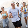 Running, sport, exercising and healthy lifestyle c...