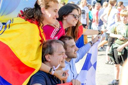 Kiev Ukraine May 2018 Fans