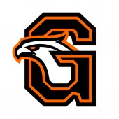 Letter G with eagle head Great for sports logotypes and team mascots