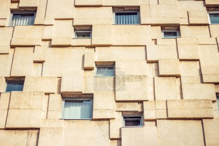 Photo for Abstract architecture design of a building in Europe - Royalty Free Image