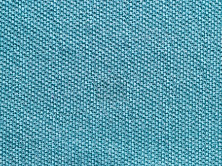 Foto de Azul verde textura de polo de Jersey de punto como fondo de materia textil - Imagen libre de derechos