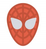 Spider man cartoon tv and film character concept