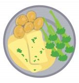 In a plate broccoli cheese and some nuts are given to offer icon for broccoli with cheese